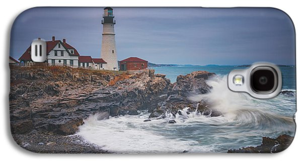 Cape Elizabeth Storm Galaxy S4 Case by Darren White