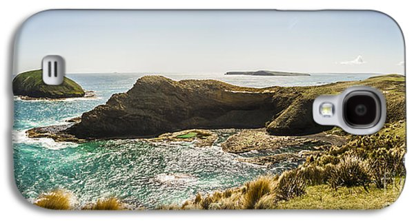 Cape Grim Cliff Panoramic Galaxy S4 Case by Jorgo Photography - Wall Art Gallery