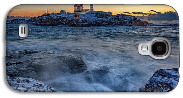 Cape Neddick In The Cold Galaxy S4 Case