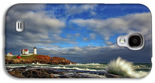 Cape Neddick Lighthouse Galaxy S4 Case by Rick Berk