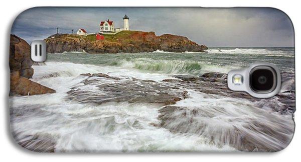 Cape Neddick Storm Galaxy S4 Case by Rick Berk