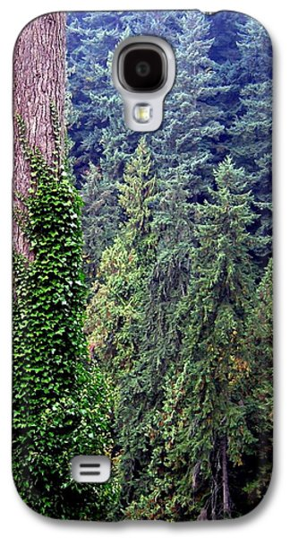 Capilano Canyon Ivy Galaxy S4 Case by Will Borden