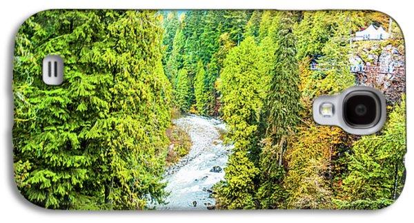Capilano River, Vancouver Galaxy S4 Case by Art Spectrum