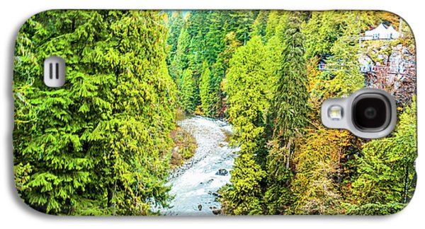 Capilano River, Vancouver Galaxy S4 Case by Art Spectrum
