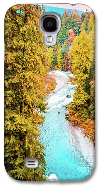 Capilano River, Vancouver Bc, Canada Galaxy S4 Case by Art Spectrum