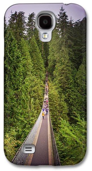 Capilano Suspension Bridge, North Vancouver, Canada Galaxy S4 Case by Art Spectrum