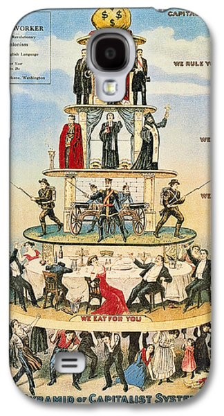 Capitalist Pyramid, 1911 Galaxy S4 Case by Granger