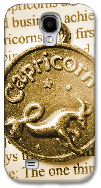 Capricorn Zodiac Lucky Charm Galaxy S4 Case by Jorgo Photography - Wall Art Gallery