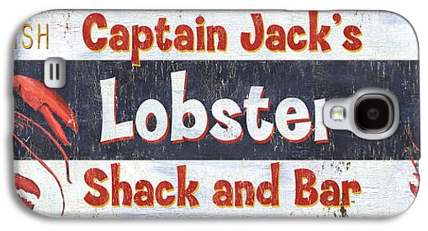 Captain Jack's Lobster Shack Galaxy S4 Case