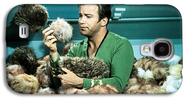 Captain Kirk Up To His Chest In Tribbles Galaxy S4 Case