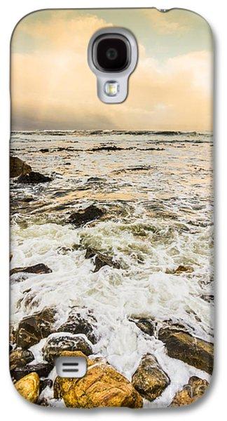 Captivating Coastal Sunrise Galaxy S4 Case