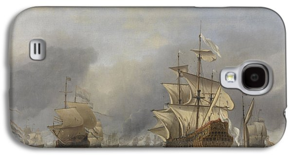 Capture Of The Royal Prince Galaxy S4 Case by Willem Van De Velde The Younger