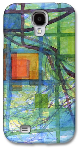 Captured Squares Galaxy S4 Case