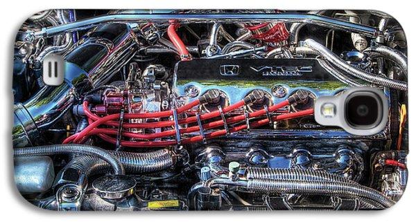 Wild Racers Galaxy S4 Case - Car - Engine - Car Intestines by Mike Savad