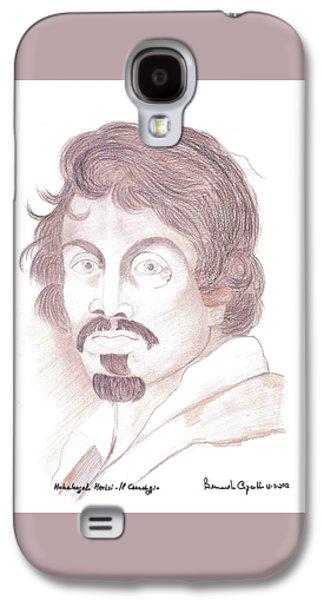 Caravaggio Self Portrait Galaxy S4 Case