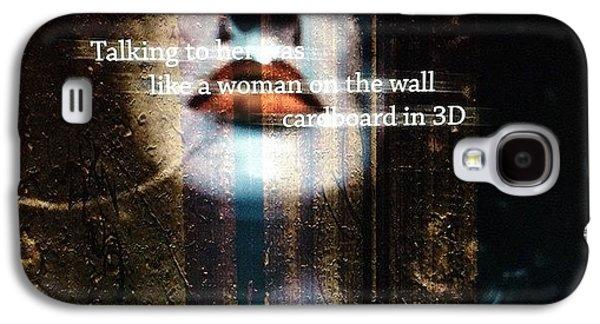 Beautiful Galaxy S4 Case - Cardboard In 3d   by Steven Digman