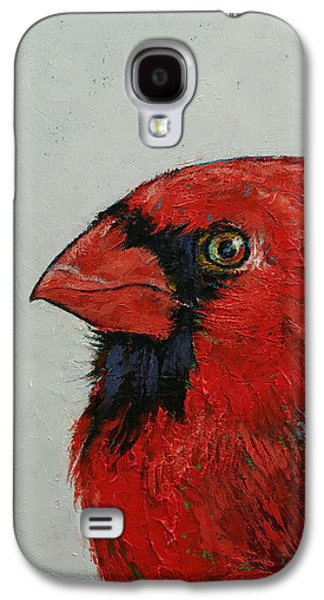 Cardinal Galaxy S4 Case by Michael Creese