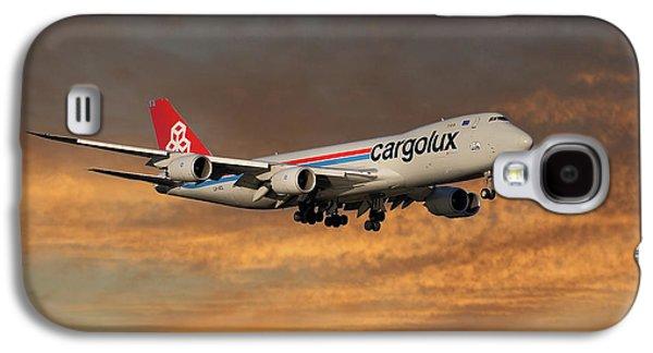 Jet Galaxy S4 Case - Cargolux Boeing 747-8r7 3 by Smart Aviation