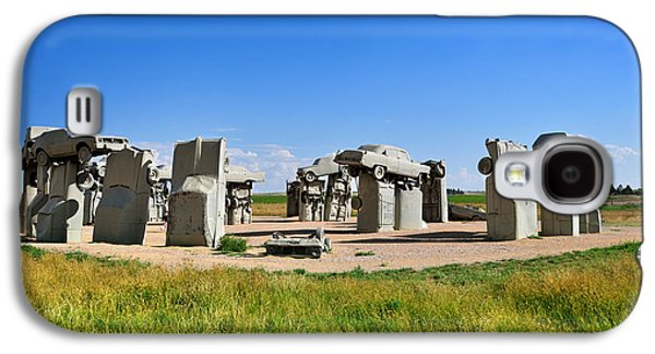Carhenge Galaxy S4 Case by Edwin Verin