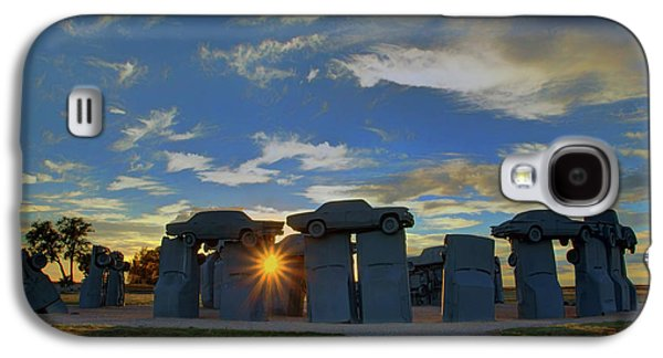 Carhenge - Nebraska - Sunset Galaxy S4 Case