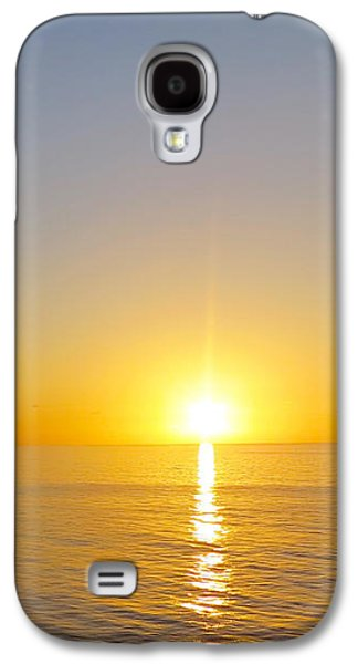 Caribbean Sunset Galaxy S4 Case by Teresa Wing