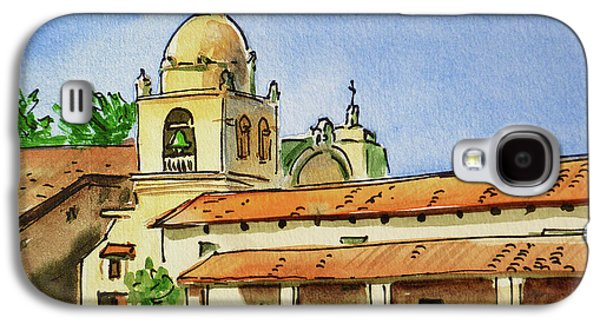 Carmel By The Sea - California Sketchbook Project  Galaxy S4 Case