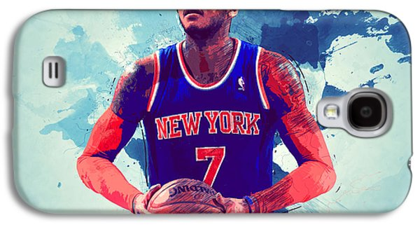 Carmelo Anthony Galaxy S4 Case