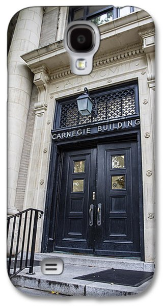 Carnegie Building Penn State  Galaxy S4 Case by John McGraw