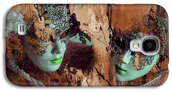 Carnival Mask Galaxy S4 Case by Gull G