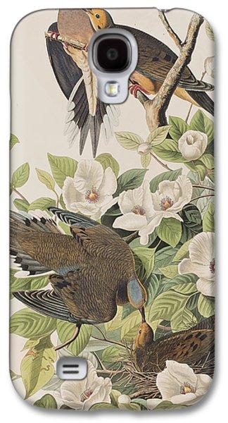 Carolina Turtle Dove Galaxy S4 Case by John James Audubon