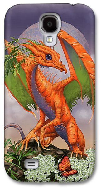 Carrot Galaxy S4 Case - Carrot Dragon by Stanley Morrison