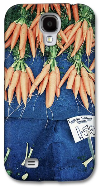 Carrots At The Market Galaxy S4 Case by Tom Gowanlock