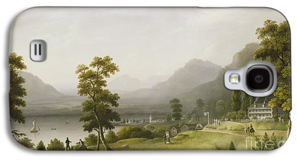 Carter's Tavern At The Head Of Lake George Galaxy S4 Case by Francis Guy