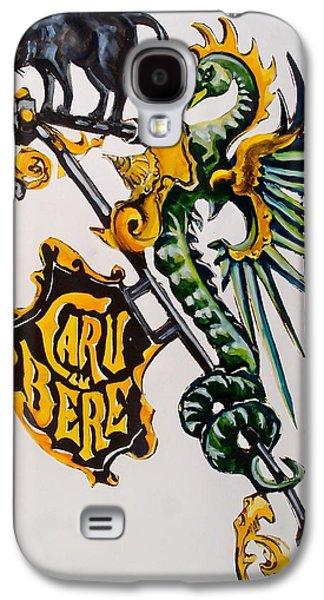 Caru Cu Bere - Antique Shop Sign Galaxy S4 Case