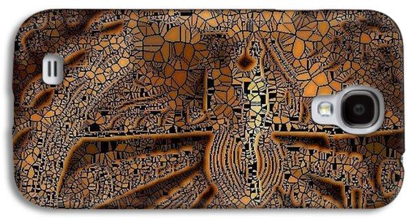 Carve Wood Galaxy S4 Case