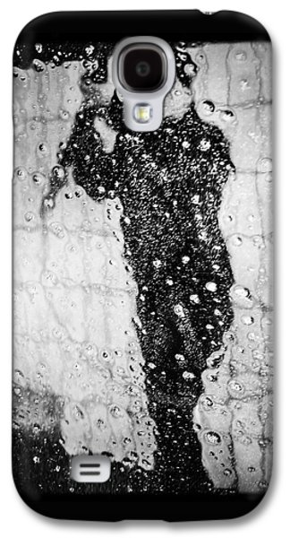 Cool Galaxy S4 Case - Carwash Cool Black And White Abstract by Matthias Hauser