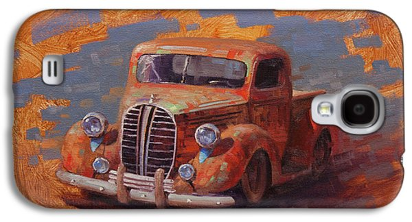 Truck Galaxy S4 Case - Cascading Color by Cody DeLong