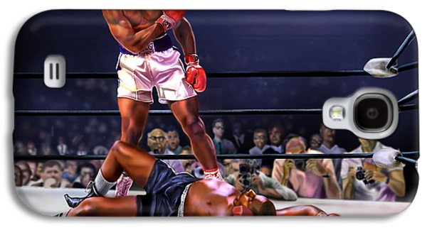Cassius Clay Vs Sonny Liston Galaxy S4 Case