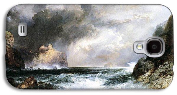 Scotland Galaxy S4 Case - Castle In Scotland by Thomas Moran
