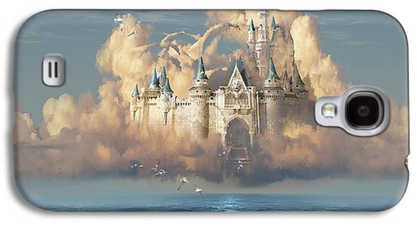 Castle In The Sky Galaxy S4 Case by George Grie