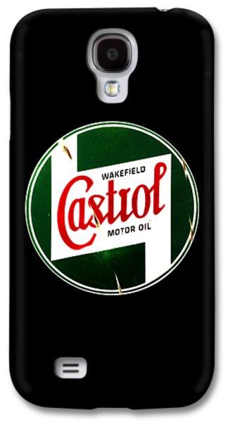 Castrol Motor Oil Galaxy S4 Case by Mark Rogan