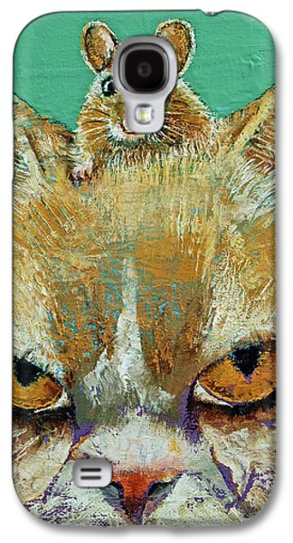 Cat And Mouse Galaxy S4 Case