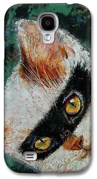 Cat Burglar Galaxy S4 Case by Michael Creese