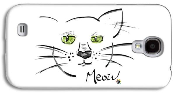 Cat Meow Galaxy S4 Case