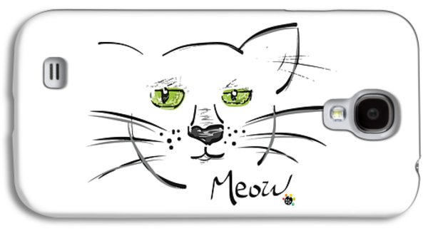 Cat Meow Galaxy S4 Case
