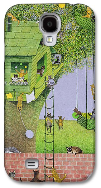 Cat Tree House Galaxy S4 Case
