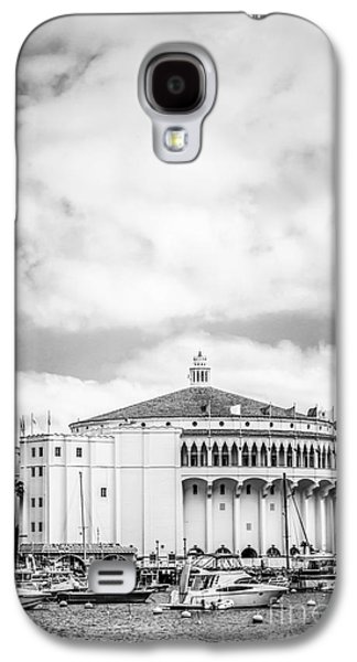 Catalina Casino Black And White Photo Galaxy S4 Case by Paul Velgos