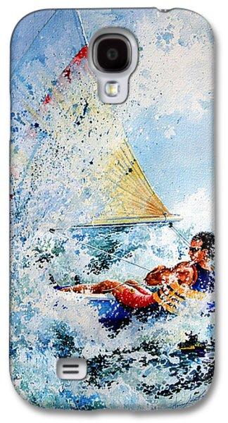 Catch The Wind Galaxy S4 Case by Hanne Lore Koehler