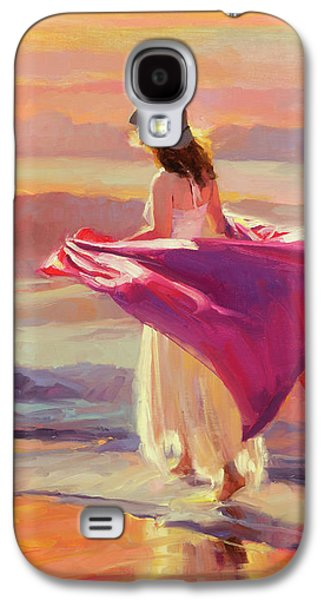 Beach Galaxy S4 Case - Catching The Breeze by Steve Henderson