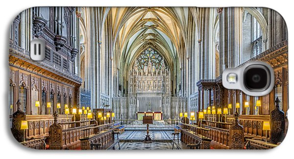 Cathedral Aisle Galaxy S4 Case by Adrian Evans